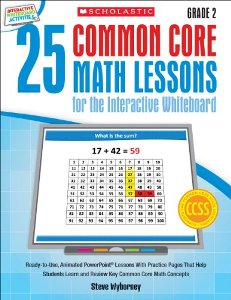 25 common core math lessons for the interactive whiteboard ready to